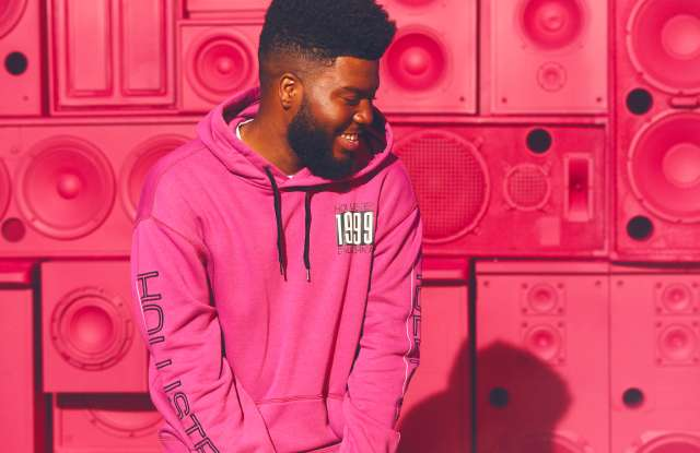 Khalid worked with Hollister on a collection for fall.