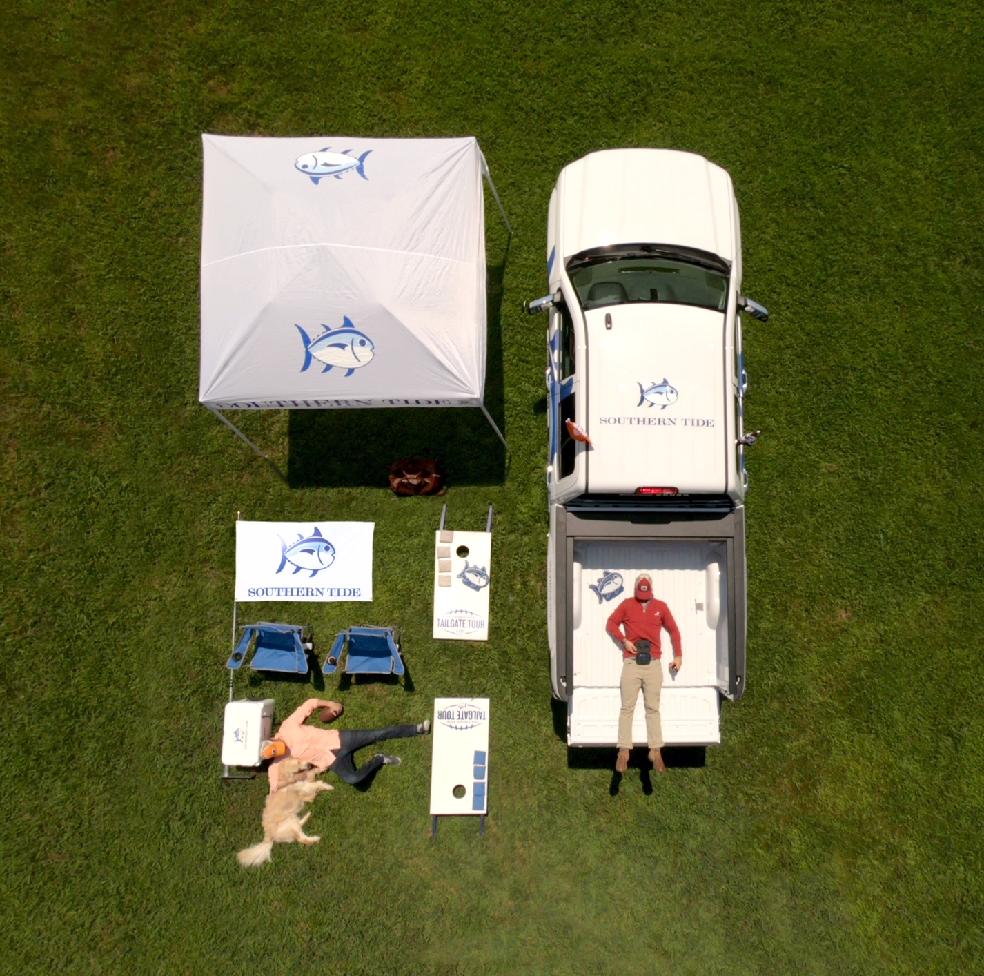 The Southern Tide Tailgate Tour will travel to six colleges.