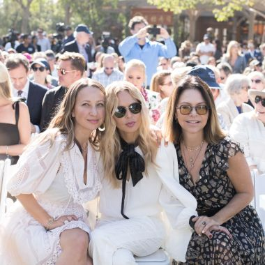 Jennifer Meyer, Rachel Zoe and Elyse Walker