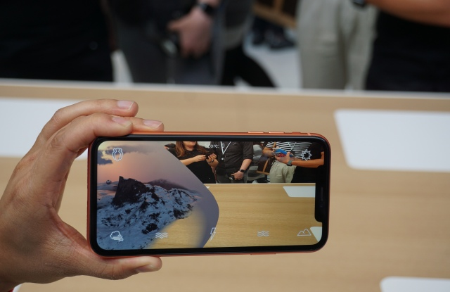 Apple iPhone XR ar augmented reality mobile