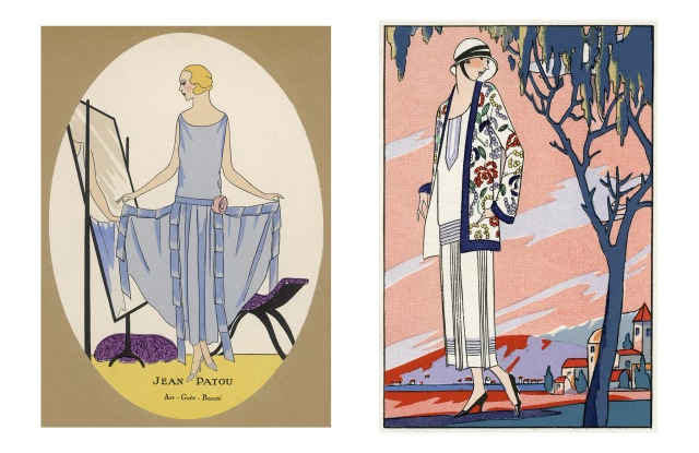 Illustrations by Jean Patou from 1924.