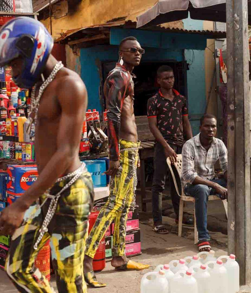 "A scene from the ""Kilon Shele Gan Gan"" movie by Dafe Oboro."
