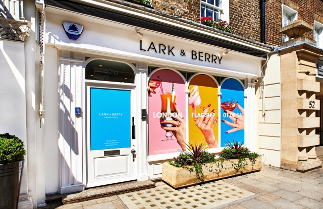 Lark & Berry Store Front