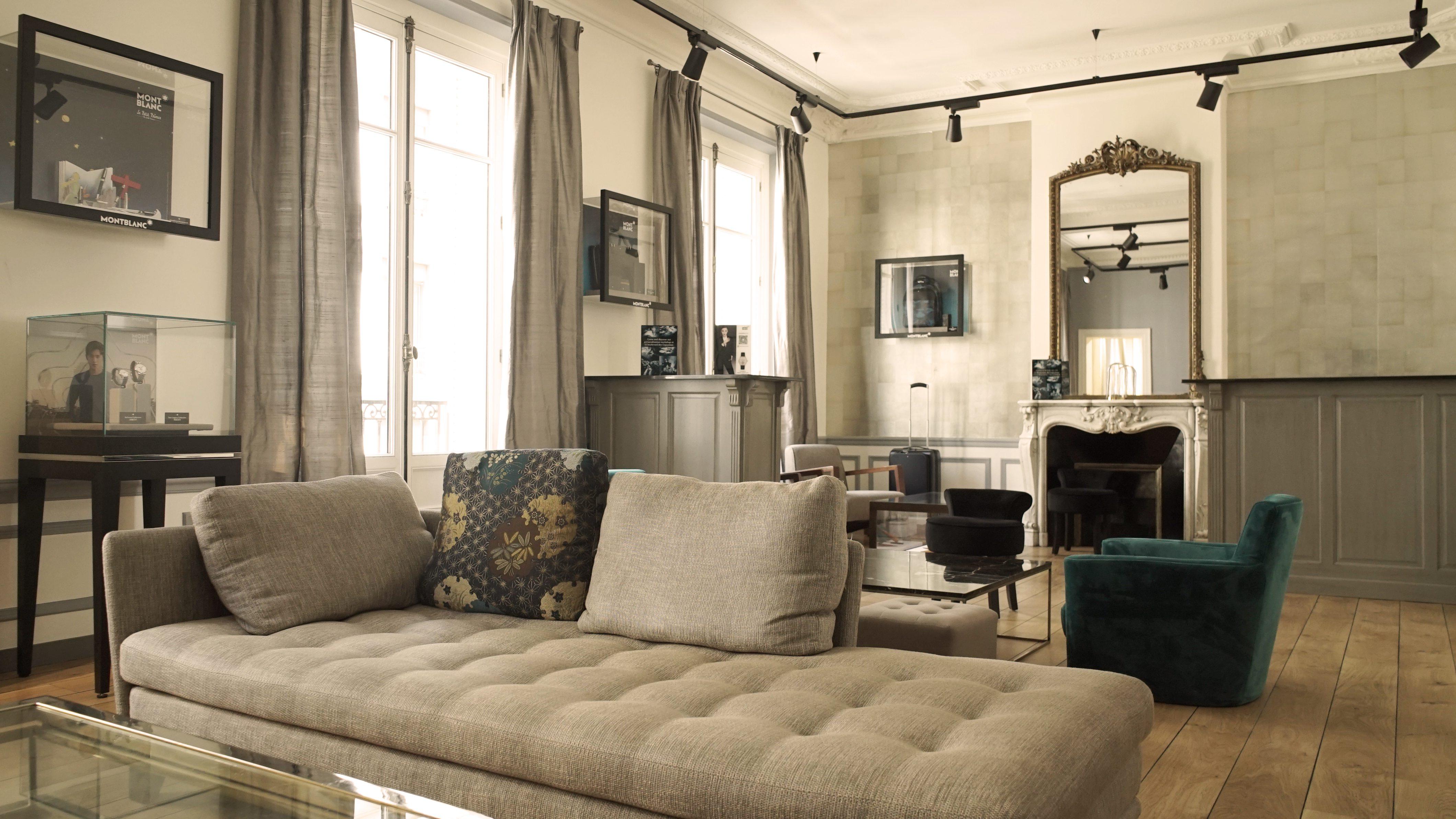 Global Blue's VIP lounge in Paris