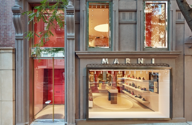 Marni store on Madison Avenue