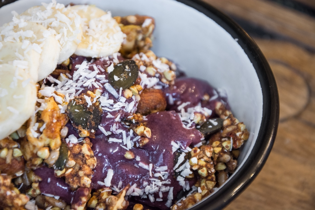 One of Wild & The Moon's most popular orders, the Açai Bowl