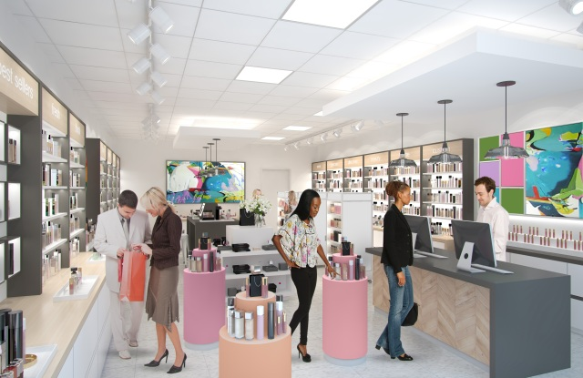Perfumania's first concept store in Denver is designed to educate and engage shoppers.