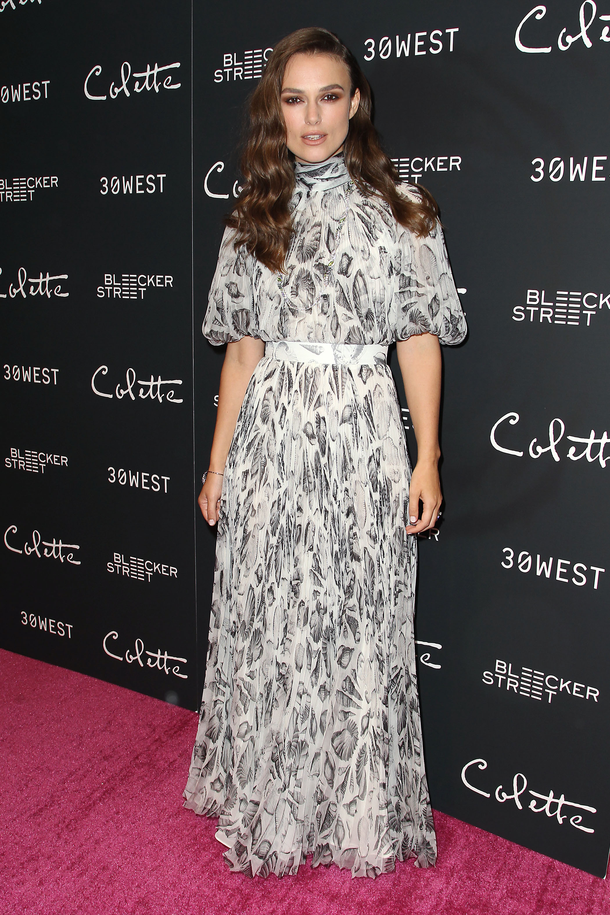 - New York, NY - 9/13/18 - New York Special Screening of COLETTE  -Pictured: Keira Knightley -Photo by: Patrick Lewis/Starpix -Location: Rainbow Room