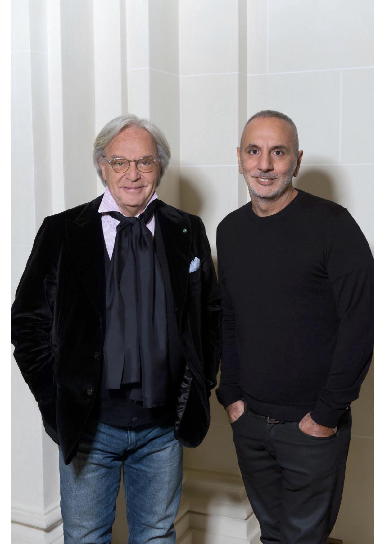 Diego Della Valle and Alessandro Dell'Acqua