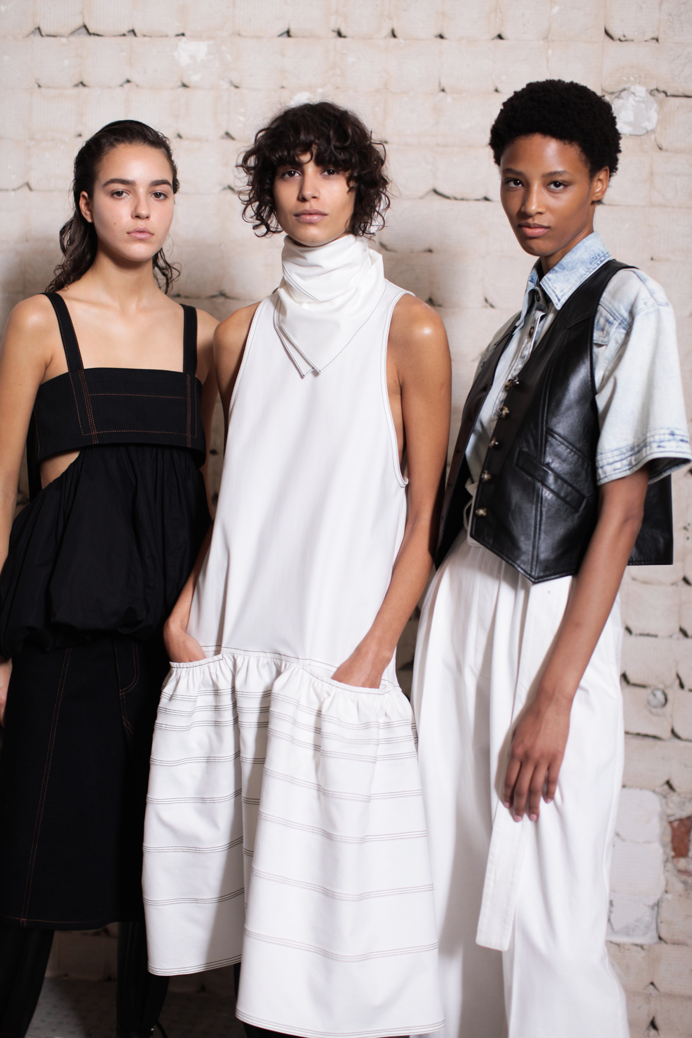 Backstage at Proenza Schouler RTW Spring 2019