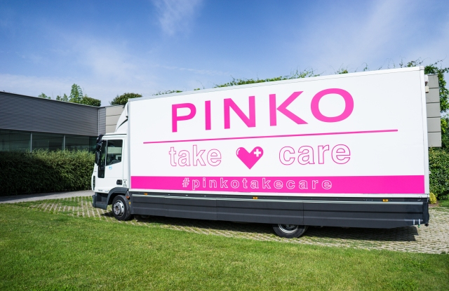 The Pinko Take Care truck.