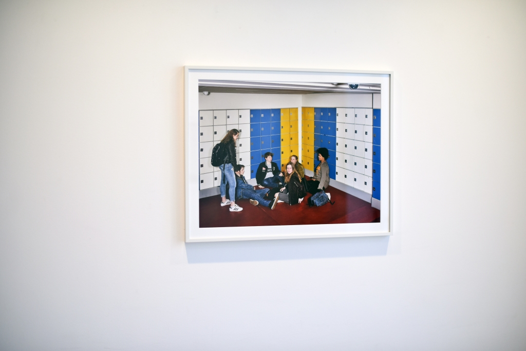 """A picture by Raimond Wouda at the """"A Generation"""" exhibition"""