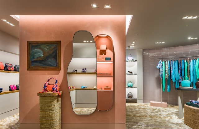 Mulberry's new Regent Street flagship store