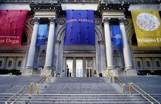 Metropolitan Museum of Art, main entrance, New York City, USAVARIOUS