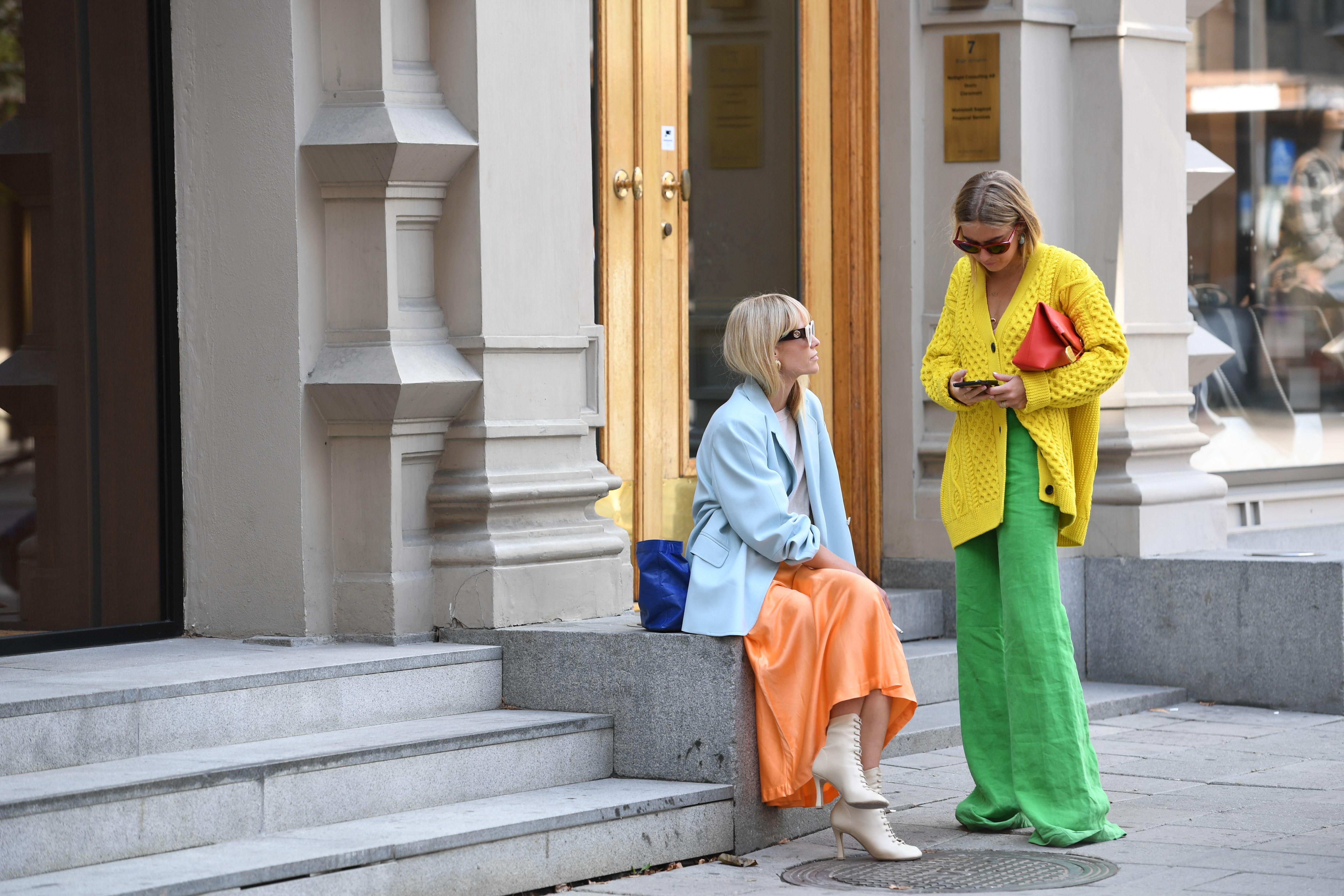 Street StyleStreet style, Spring Summer 2019, Stockholm Fashion Week, Sweden - 28 Aug 2018