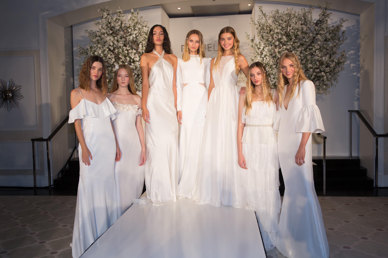 Models on the catwalkRachel Zoe Spring 2019 presentation, Runway, Los Angeles, USA - 04 Sep 2018