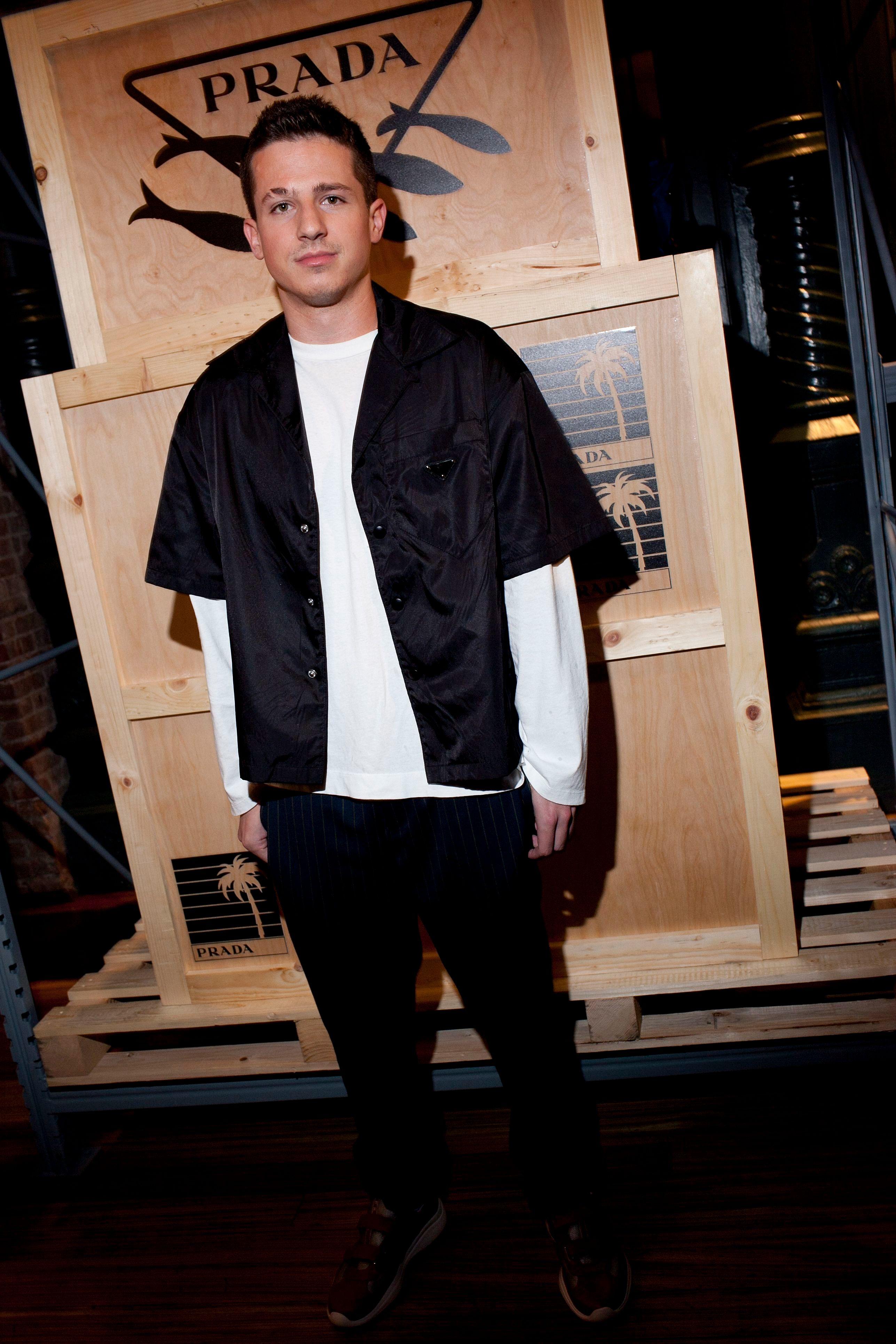 Charlie PuthPrada Linea Rossa Party, Spring Summer 2019, New York Fashion Week, USA - 08 Sep 2018
