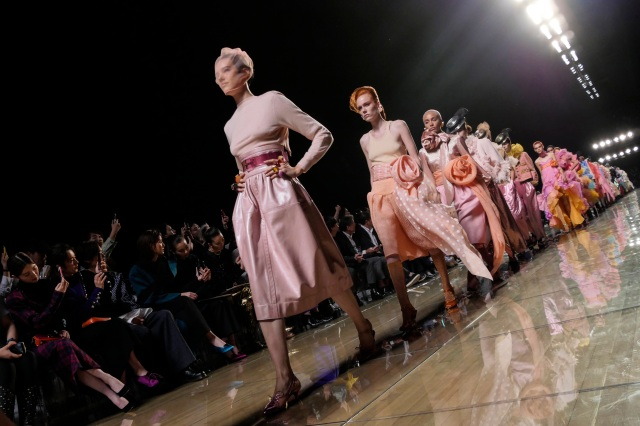 Models on the catwalkMarc Jacobs show, Runway, Spring Summer 2019, New York Fashion Week, USA - 12 Sep 2018