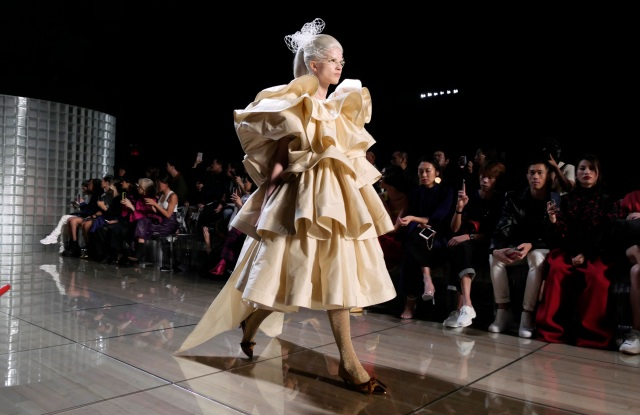Model on the catwalkMarc Jacobs show, Runway, Spring Summer 2019, New York Fashion Week, USA - 12 Sep 2018