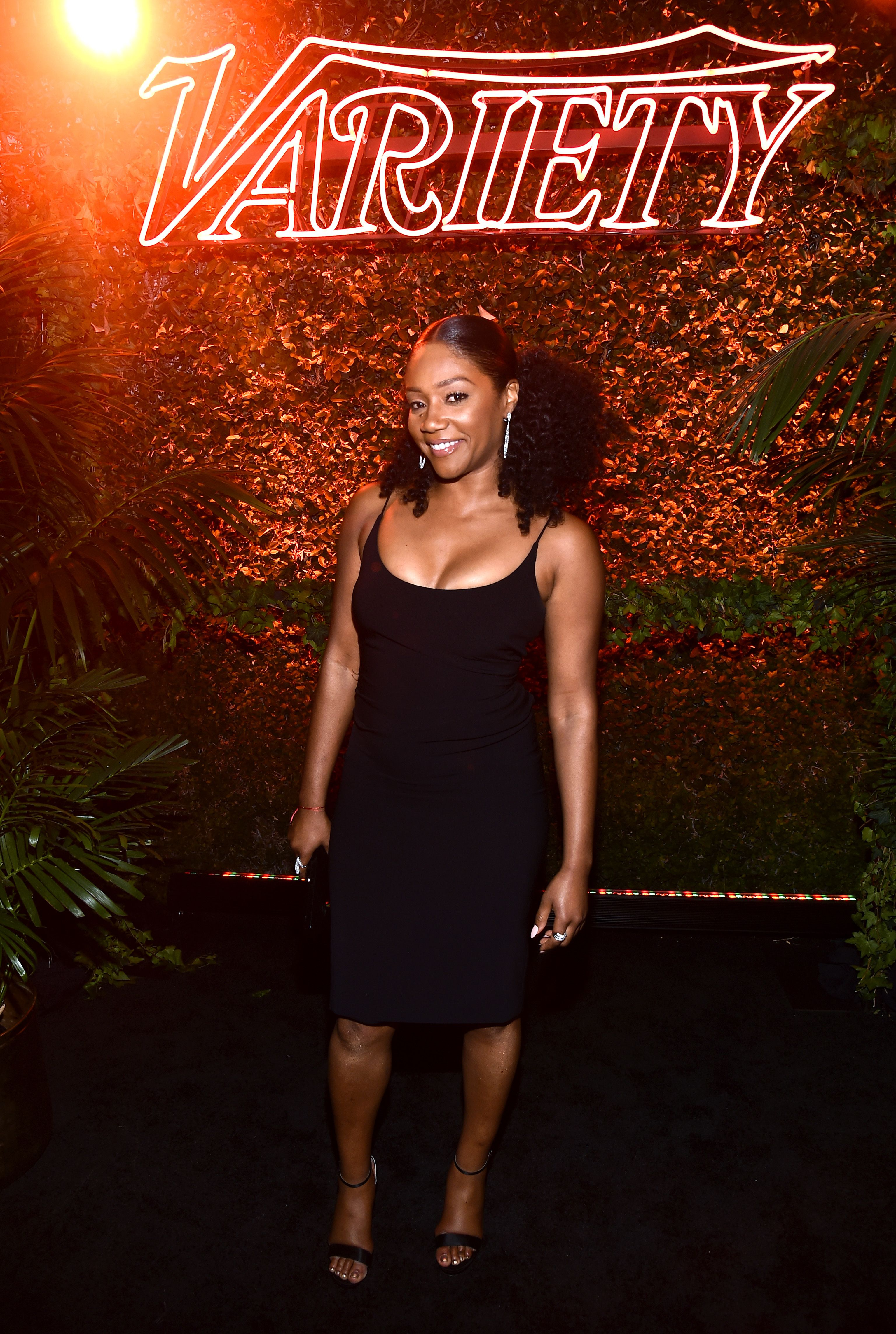 Tiffany HaddishVariety and Women in Film Pre-Emmy Party, Inside, Los Angeles, USA - 15 Sep 2018
