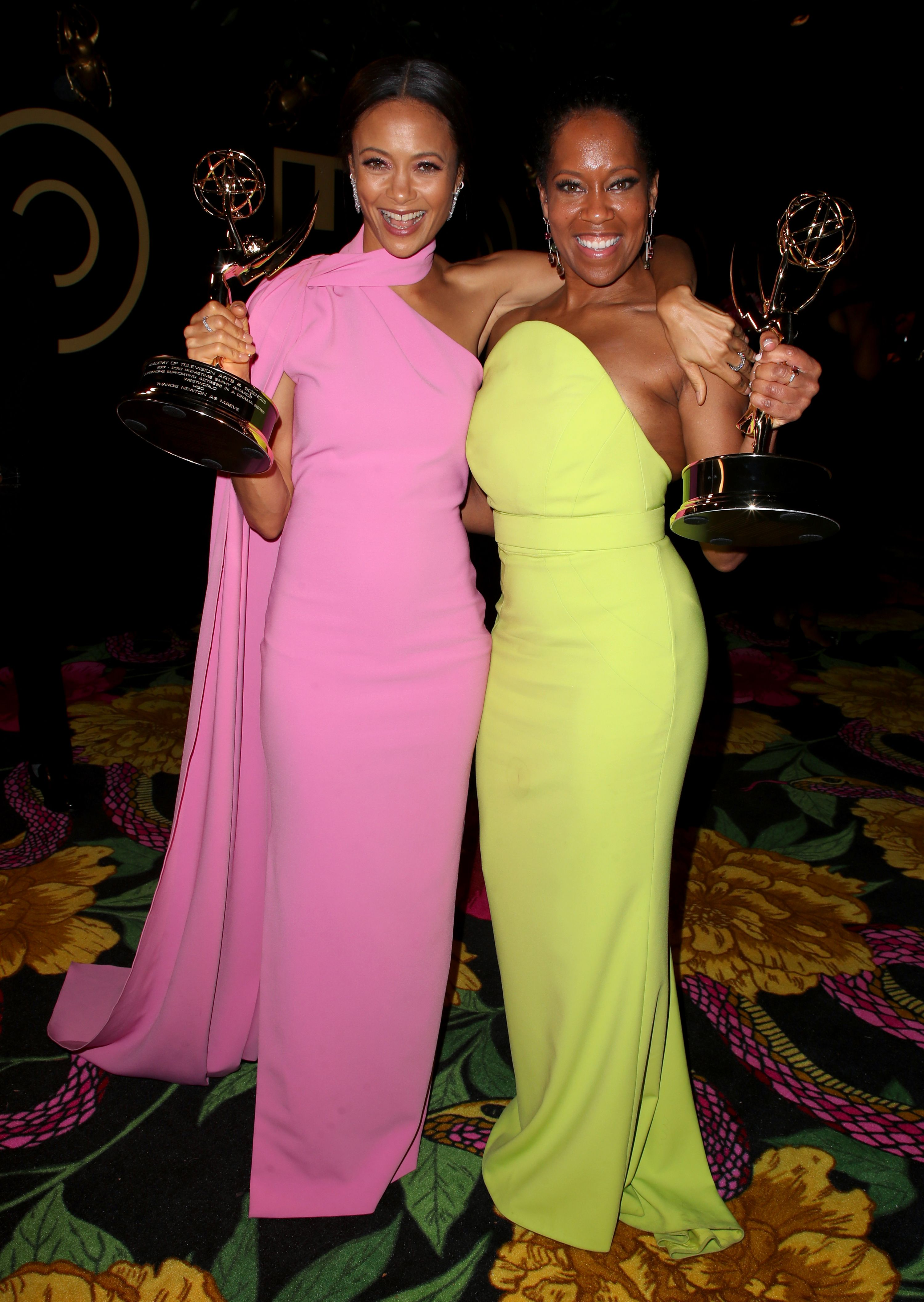 Thandie Newton and Regina King70th Primetime Emmy Awards, HBO Party, Arrivals, Los Angeles, USA - 17 Sep 2018