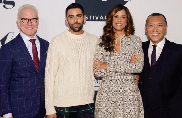 Tim Gunn, PhillpPicardi, Veronica Webb, Joe Zee'American Style' premiere, Tribeca TV Festival, New York, USA - 23 Sep 2018