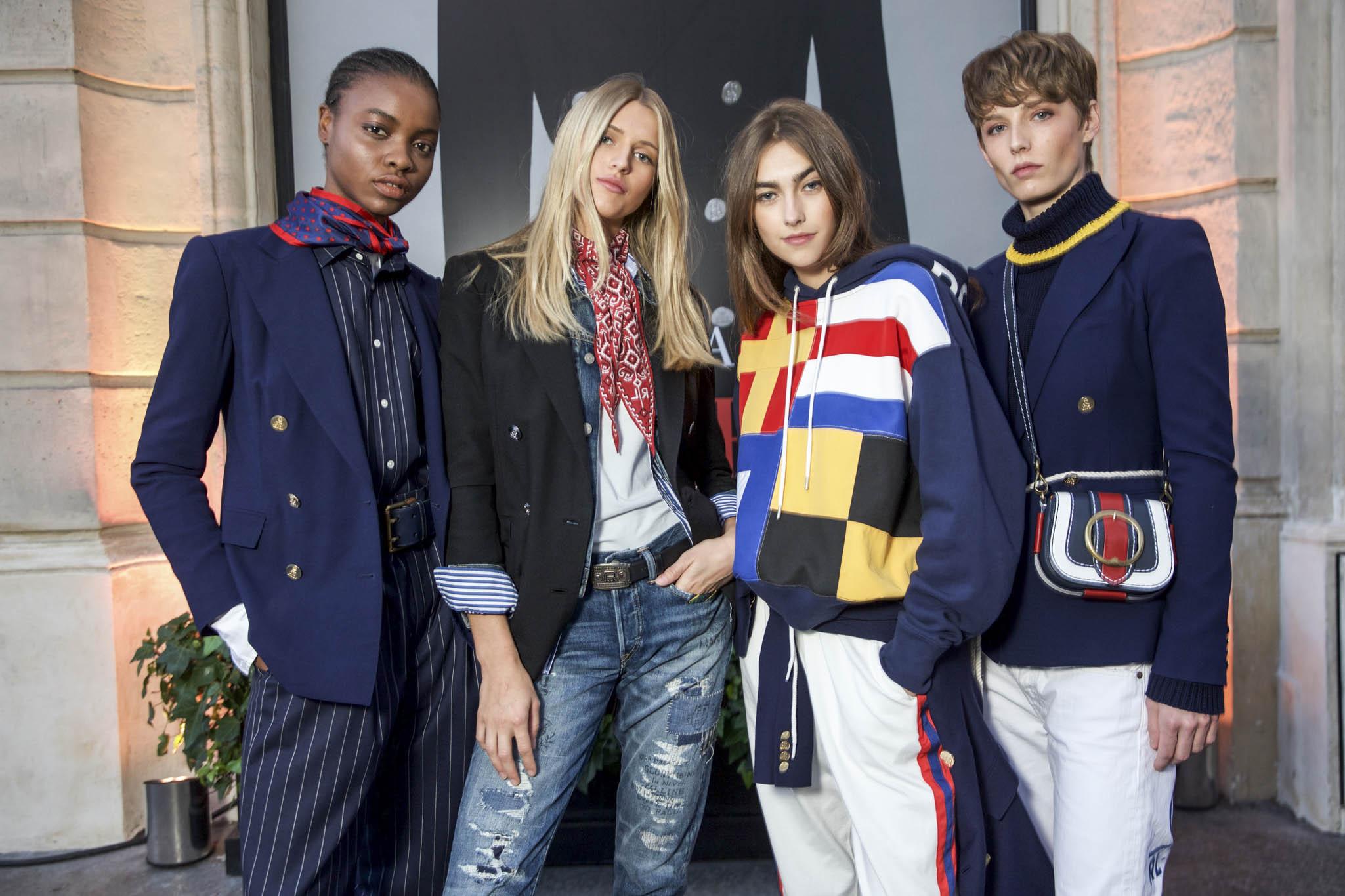 Models wearing Ralph Lauren
