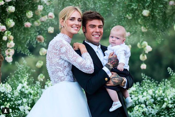 Internet sensation Chiara Ferragni tied the knot in a Dior Haute Couture dress