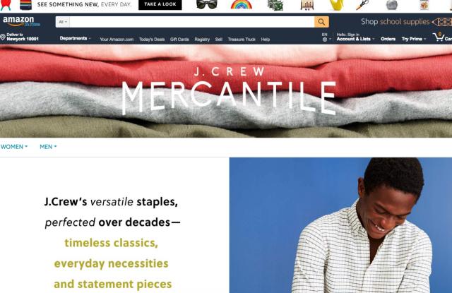 amazon j. crew mercantile