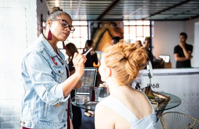 Cynde Watson of Becca Cosmetics. Photo Credit: Patrick MacLeod