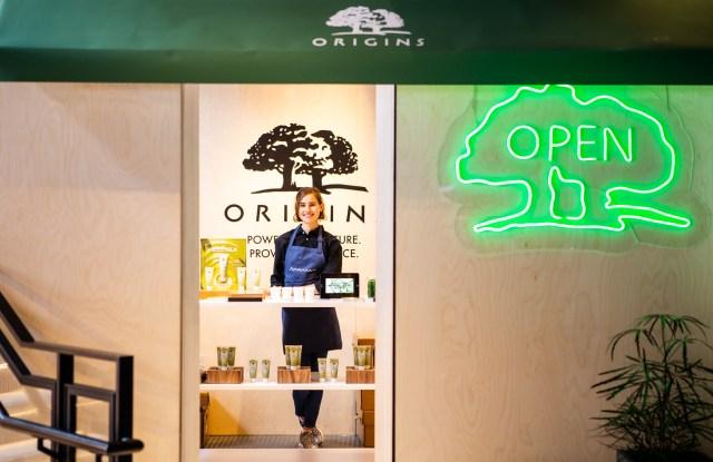 Origins' pop-up cafe at Style Dimension. Photo Credit: Patrick MacLeod
