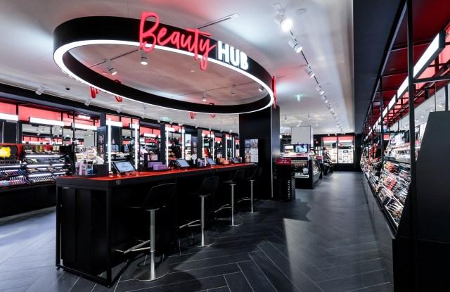 The Beauty Hub at Sephora revamped Milan flagship.