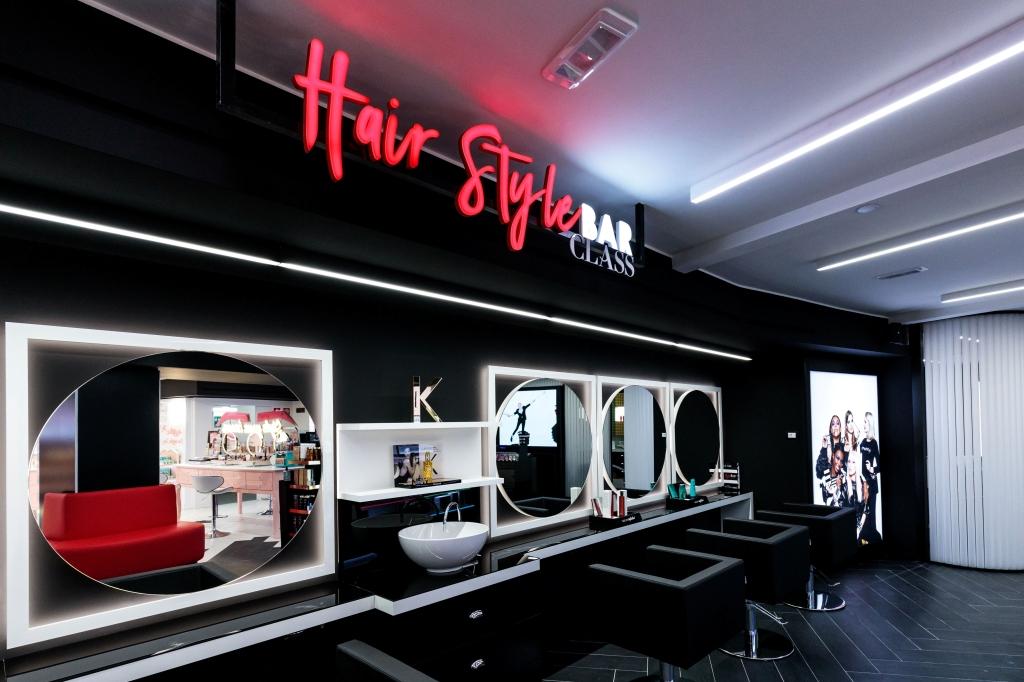 The Hair Style Bar at Sephora revamped Milan flagship.