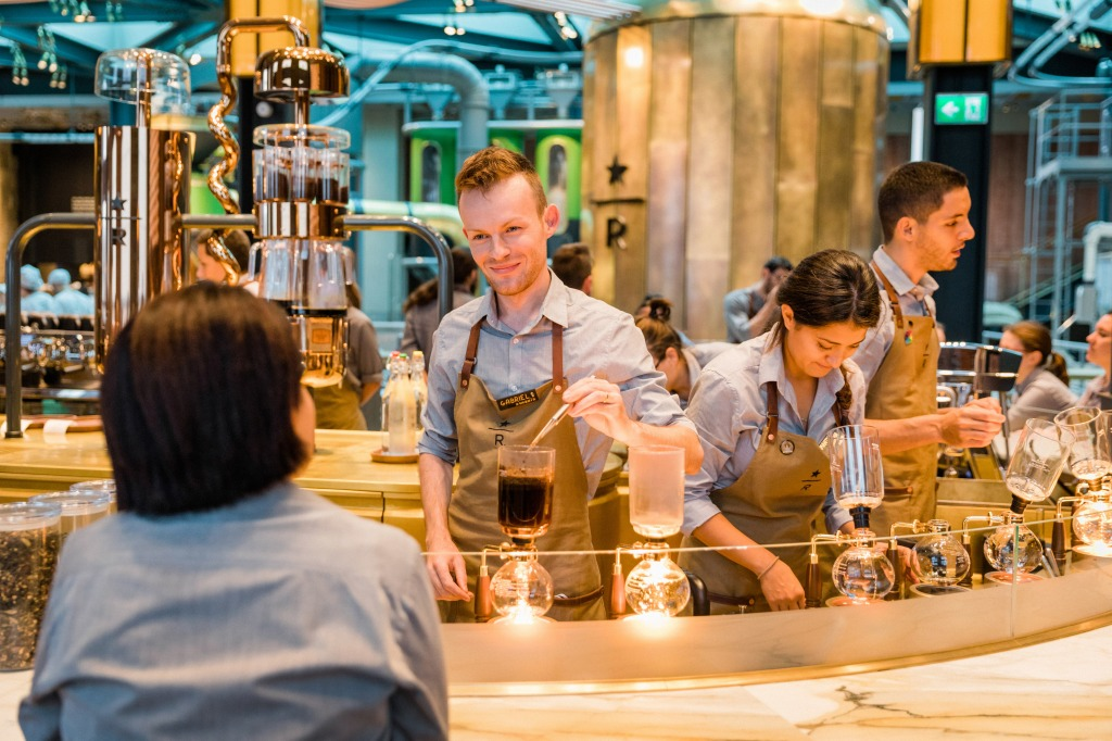Starbucks Reserve Roastery in Milan.