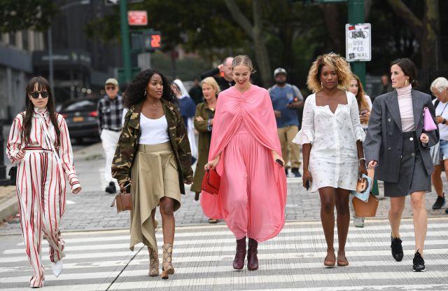 Street StyleStreet Style, Spring Summer 2019, New York Fashion Week, USA - 11 Sep 2018