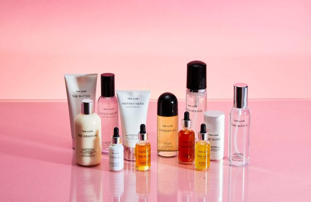Tan Luxe's line of self-tanning products.