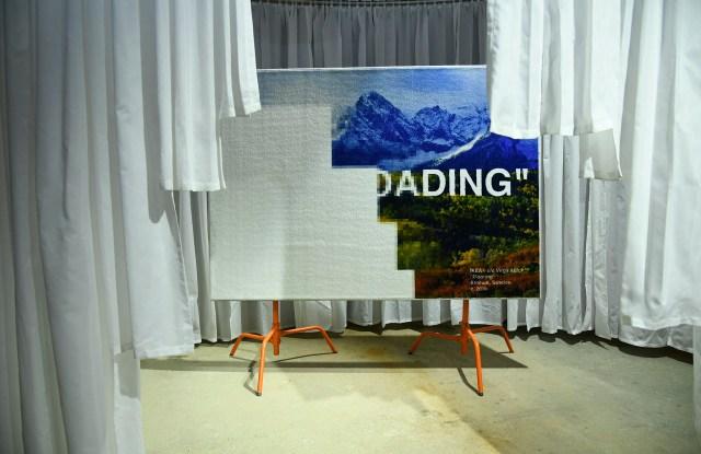 The « Still Loading » IKEA x Virgil Abloh rug