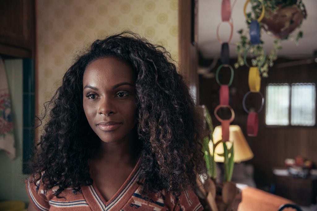 """Tika Sumpter as Maureen Hunt in """"The Old Man and the Gun."""""""