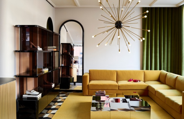 Tod's worked with India Mahdavi on the Sloane Street store.