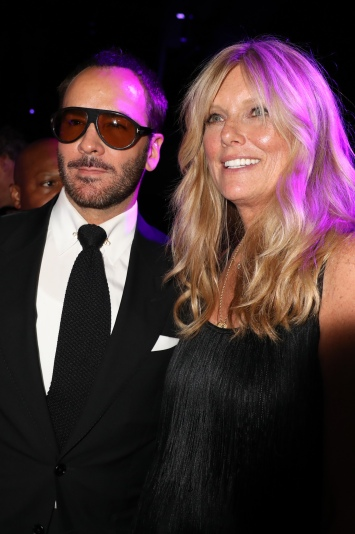 Tom Ford and Patti Hansen