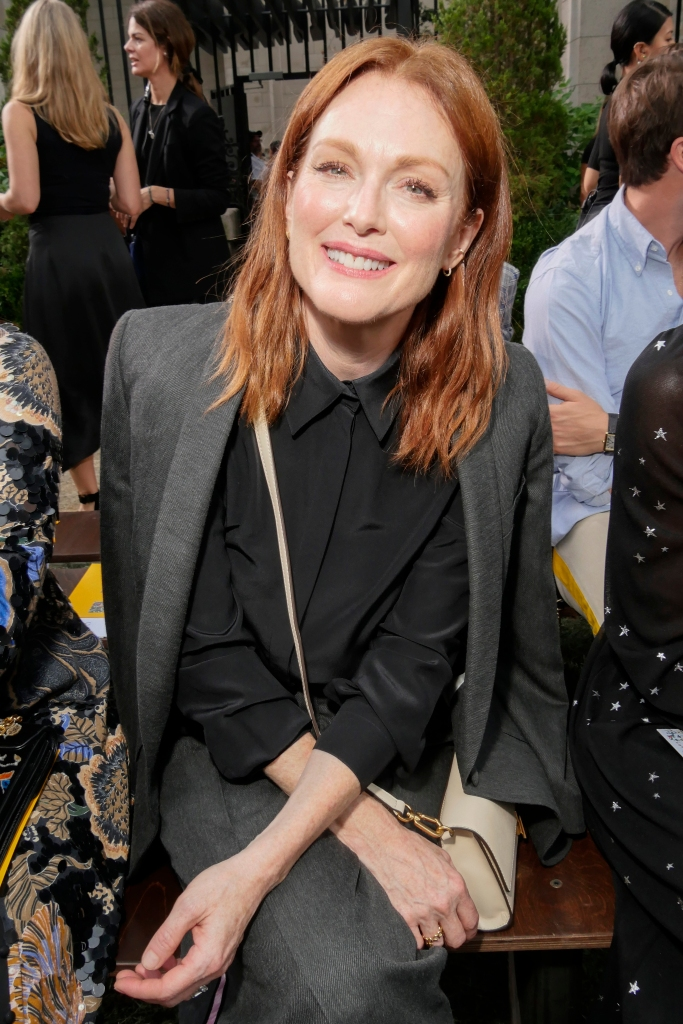 Julianne Moore in the front rowTory Burch show, Front Row, Spring Summer 2019, New York Fashion Week, USA - 07 Sep 2018