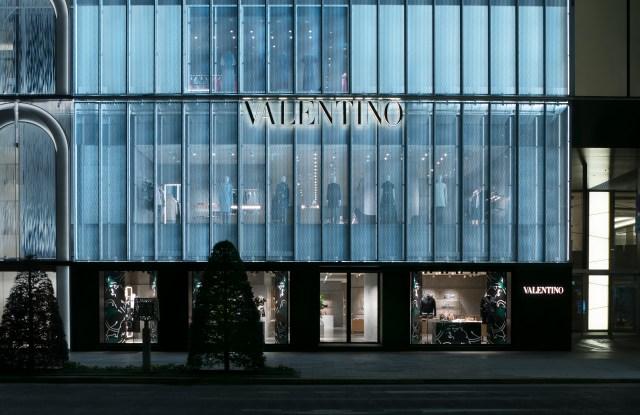 Valentino's Ginza Six flagship store.
