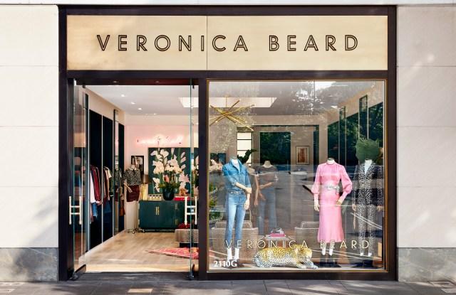 The Veronica Beard store in Manhasset.