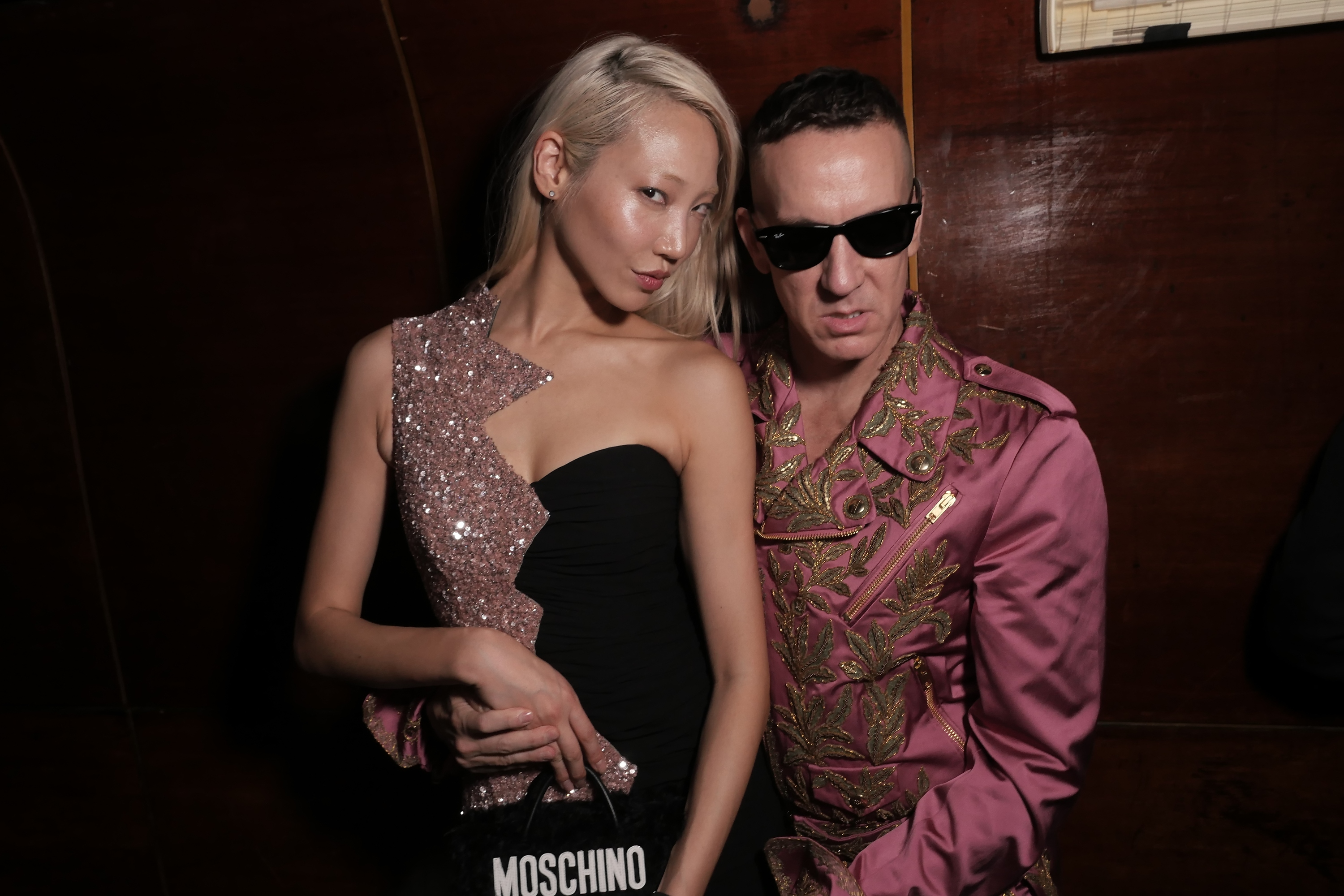 Soo Joo Park and Jeremy Scott