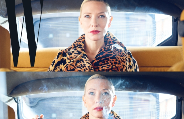 Cate Blanchett for W's issue number 5.