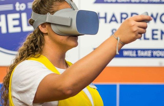 walmart oculus go employee training retail