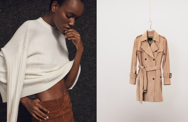 An image from the fall Banana Republic campaign.