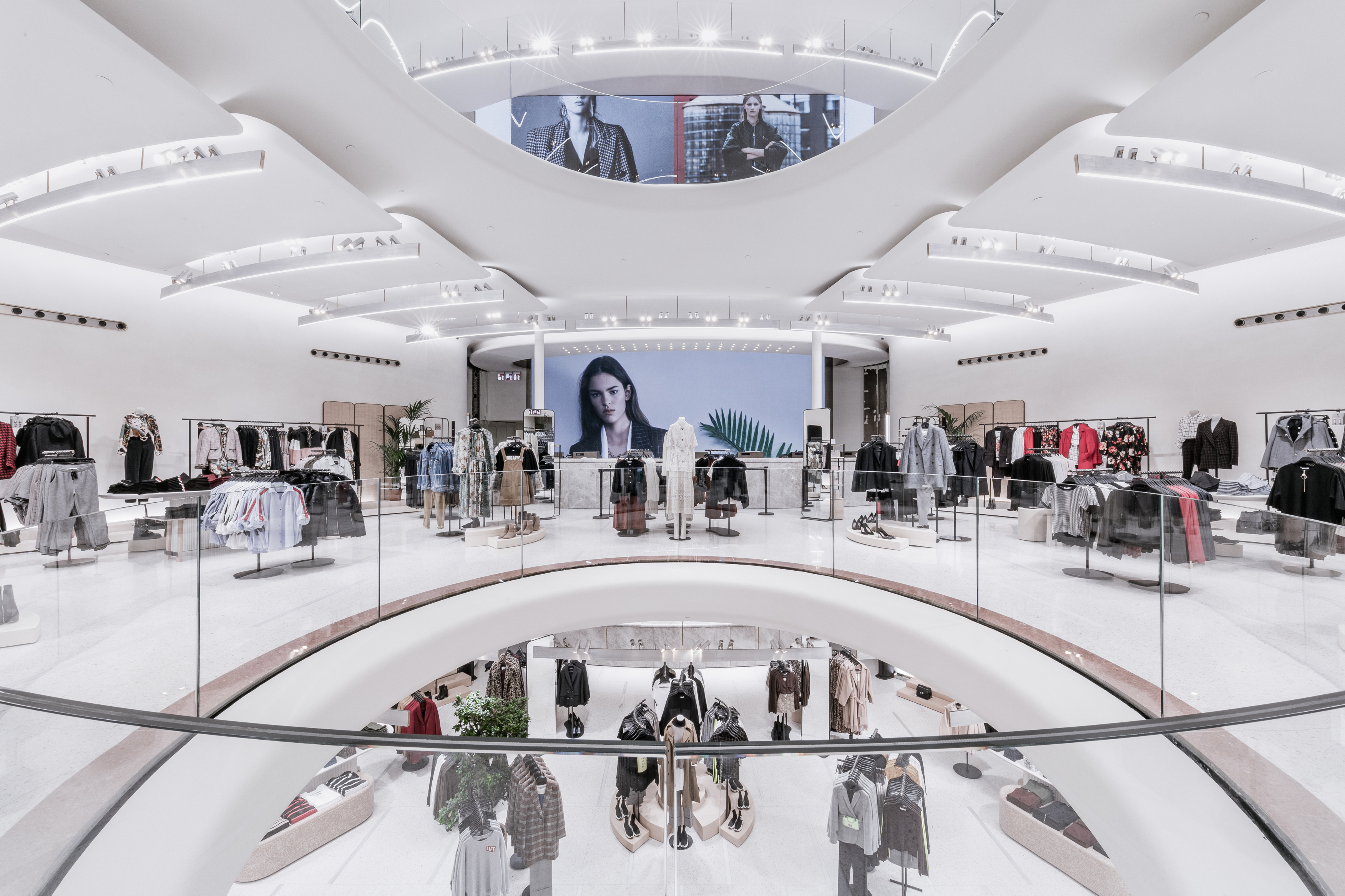 Zara's revamped flagship in Milan.