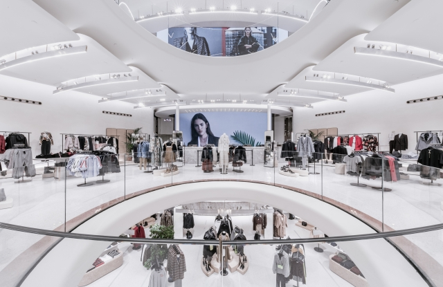 Zara's revamped flagship in Milan.