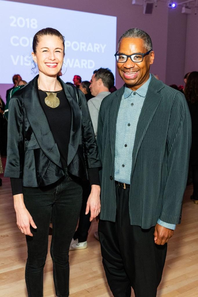 SAN FRANCISCO, CA - October 3 - Josephine Taylor and John Bankston attend SFMOMA Contemporary Vision Award 2018 Honoring Kara Walker on October 3rd 2018 at SFMOMA in San Francisco, CA (Photo - Drew Altizer)